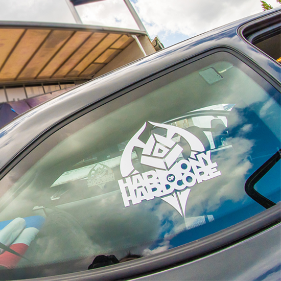 Car Sticker HoH Logo And Text